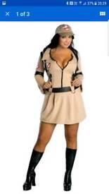 Ladies Ghostbusters fancy dress costume