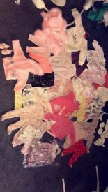 Baby clothes ranging from tiny baby to 0-3 months