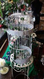 Wedding decorative big bird cage