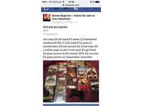 ps3 games and dvd