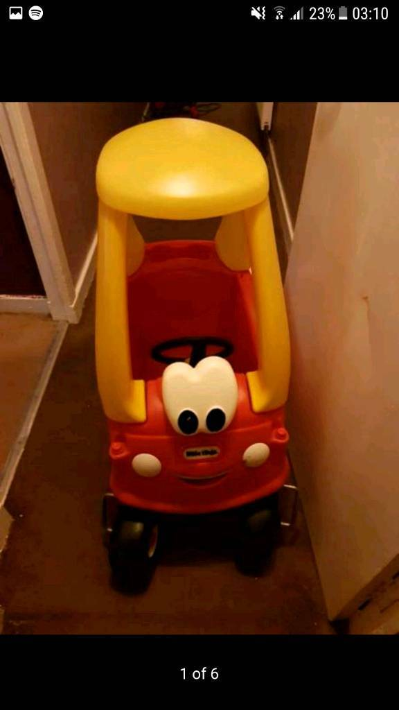 SOLD...CHILDREN'S COZY COUPES