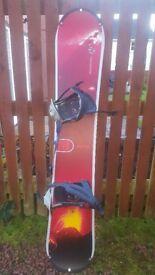 rossignol 149 roc d snowboard
