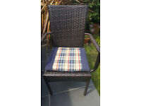 Garden seat cushions / pads