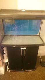 3 foot fish tank stand & sump