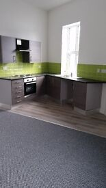 Newly refurbished 2 bed first floor flat in city centre location