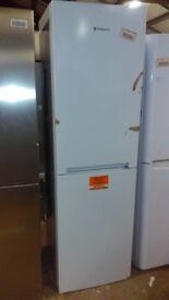 HOTPOINT white fridge freezer height 201mm new ex display