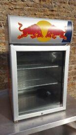 redbull display fridge counter top