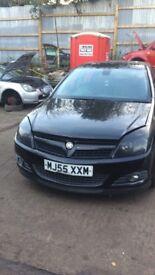 2005 Vauxhall Astra Design Twinsport 5dr Hatchback 1.6L Black BREAKING FOR SPARES