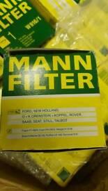 Brand new 10x Mann Filters W916/1