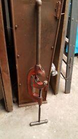 Ridgid pipe cutter 2 - 4 inch