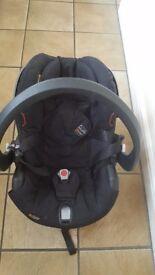 Babies first car seat