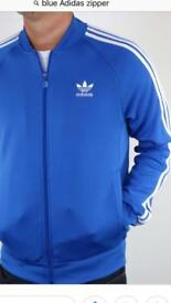 Blue Adidas Zipper Brand New with tags