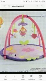 Mothercare fairy interactive activity mat
