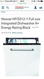 Hoover HFI 3012 fully integrated dishwasher (ex showhouse)