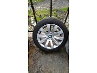 OFFICIAL 17 INCH BMW ALLOYS AND WINTER TYRES