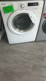Hoover white 10+6kg load washer & dryer