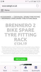 4x4 bike rack