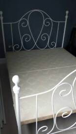 King Size Iron Bed Frame
