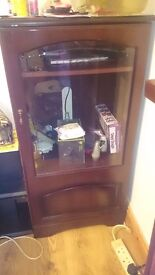 Glass Display Cabinet Free To Collector