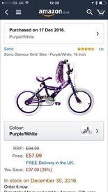16inch girls bike