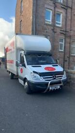 Man and van 2/3 man team fully insured towing services from £10
