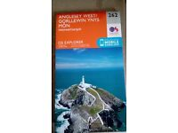 OS Explorer 262 Anglesey West