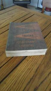 1960 chevrolet and gmc truck maintenance manual