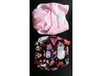 Newborn cloth / reusable nappies