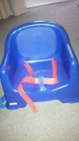 Toddler dining table booster seat