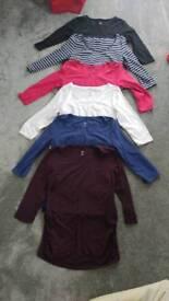 H&M maternity t shirts size large