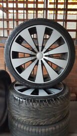VW or Audi alloy wheels with tyres 18""