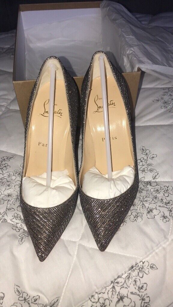 27bc17a6cb8 Christian Louboutin gold glitter Pigalle follies. SIZE 36 | in Hamilton,  South Lanarkshire | Gumtree