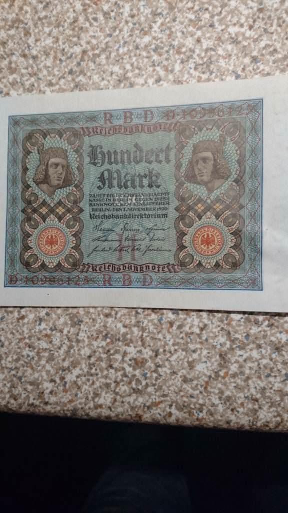 Hundert Mark 1920