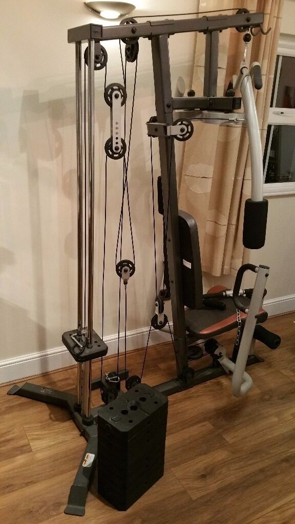 Marcy mp multi gym ideal home kg of weights