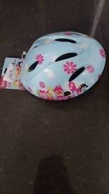 Girls bike helmet never used with tag.