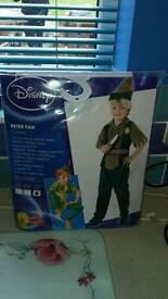 Brand new Peter pan costume