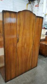 Vintage single door tall wardrobe