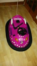 minnie mouse bumper car