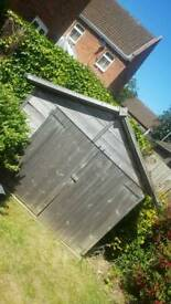 Open to offers : Garden Shed 185cm x 120cm x 180cm