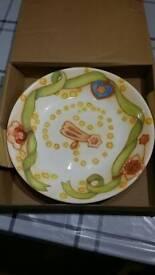 Christmas plate Thun