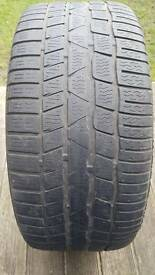 Continenal tyre part worn