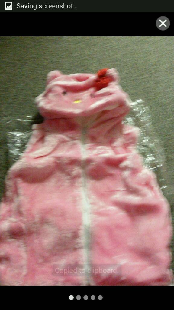 CHILDRENS FUR BODYWARMERS£6, HALF PRICE THICK AND LINED £6