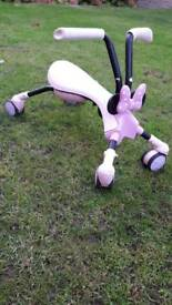 Scuttlebug toddler bike Minnie mouse pink