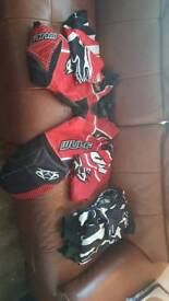 Sets of Motocross gear perfect condition