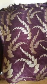 Leaf Patterned Curtains