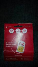 SIM pack £30 pounds worth