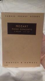 Mozart Piano Concero D Major short score