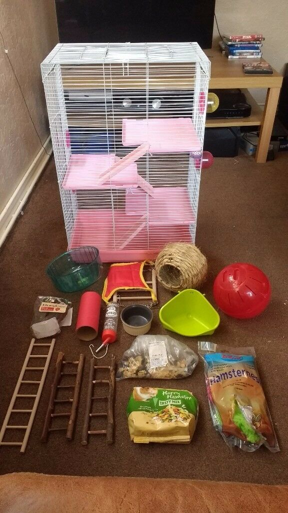 Hamster cage XXL very large with loads accessories and extras