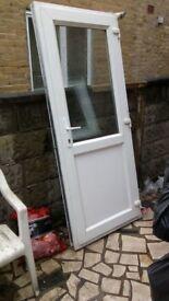 Upvc kitchen external double glazed door