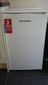 Montpellier under counter fridge with freezer compartment excellent condition
